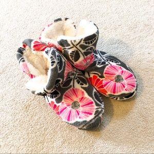 Vera Bradley Floral Slipper Boots NWOT